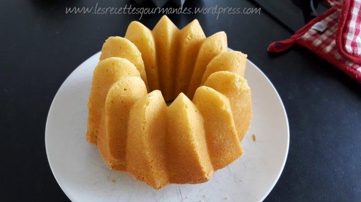 Gâteau au yaourt au citron 2